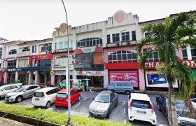 3-Storey Intermediate Shophouse at Jalan Tun Ahmad Zaidi Adruce, Kuching