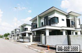 Brand New Double Storey Semi-D at Arang Road, Kuching