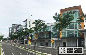 4 Storey Shoplot Corner (Trunk Main Road) at Galacity Kuching