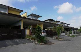 Double Storey Terrace Intermediate House at Ixora Residence, Batu Kawa