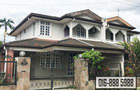 Double Storey Semi-Detached House at Jalan Kapor, Kuching