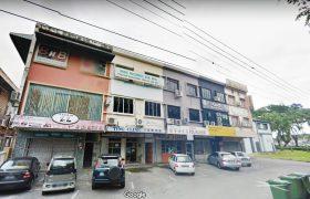 3-Storey Intermediate Shophouse at Jalan P. Ramlee, Kuching