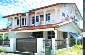 Double Storey Semi D at Jalan Kapor, Kuching