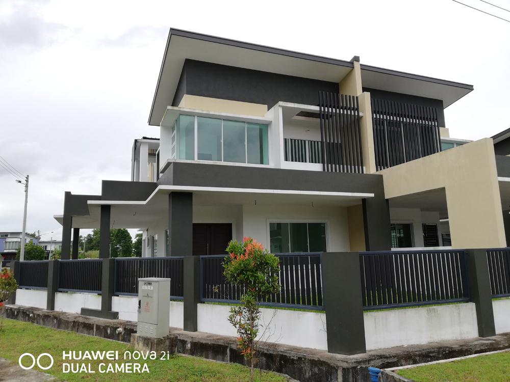 NEW Double Storey Semi Detached House at Jalan Kong Ping, Kuching