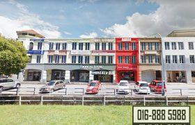 3 Storey Intermediate Commercial Shop (Perpetuity Title) at Jalan Mendu, Kuching