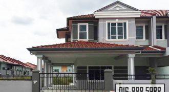 Double Storey Terrace Corner House at Uni Garden, Kota Samarahan