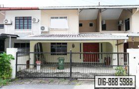 Double Storey Terrace Intermediate House at Jalan Tabuan, Kuching