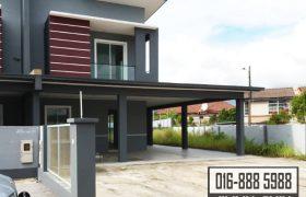 Double Storey Semi-Detached House at Taman Sri Moyan 3, Kuching