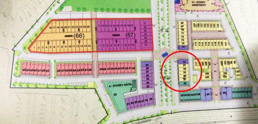 3 Storey Intermediate Shoplot (Trunk Main Road) at Galacity Kuching