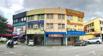 3 Storey Shop at Rubber Road (Main Road) Kuching