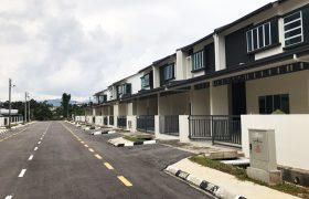 Double Storey Corner Terrace House at Taman Swanston, Kuching