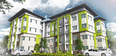 Central City Spectra Apartment, Kota Samarahan