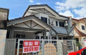 Double Storey Semi D House @ BDC, Kuching
