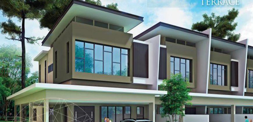 Brilliante Park (Double Storey Terrace House) at Serian