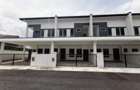 Double Storey Intermediate Terrace House at Lotak Villa, Jalan Stephen Yong Kuching