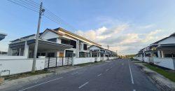 Double Storey Semi D House at Fine Residences, Kuching