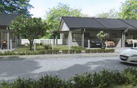 Kota Seramika (Single Storey Terrace House) at Tapah New Township, Kuching