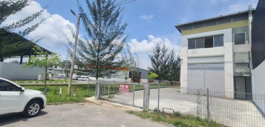 Double Story Semi D Warehouse at Muara Tabuan Light Industrial Park