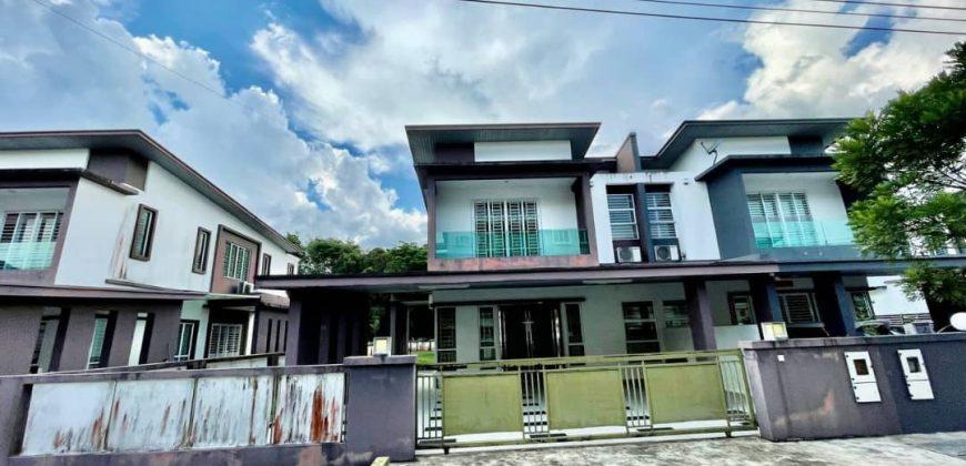 Double Storey Semi D House at Ensing Timur Stapok, Kuching
