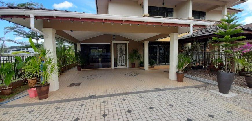 Double Storey Semi D at Taman Carisa, Kuching