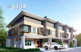 Double Storey Terrace House at Semariang, Kuching